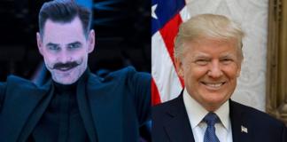 Jim Carrey, Donald Trump