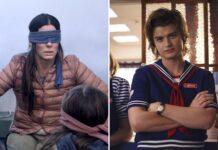 Bird Box e Stranger Things di Netflix