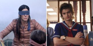 Bird Box e Stranger Things di Netflix