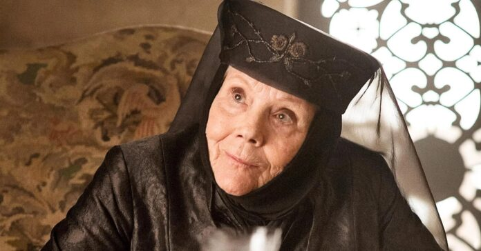 diana rigg, game of thrones, lady olenna