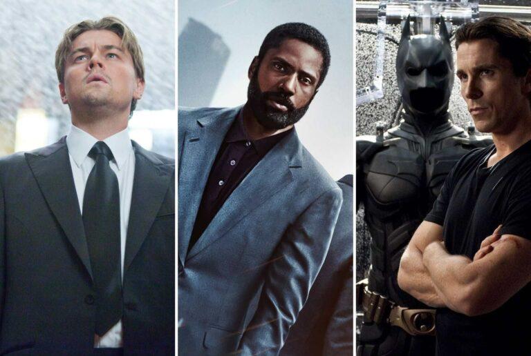 Leonardo DiCaprio, John David Washington e Christian Bale nei film di Christopher Nolan