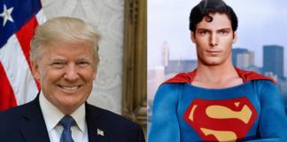 donald trump, superman