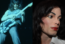 eddie van halen morto beat it michael jackson solo