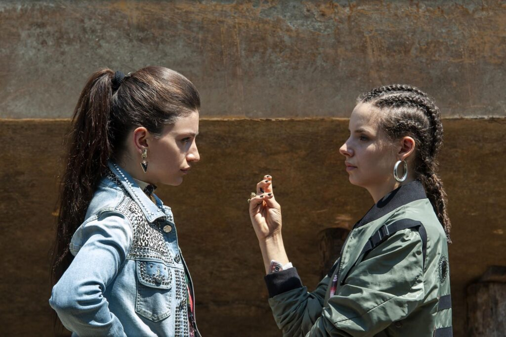 Suburra - La serie: Angelica e Nadia