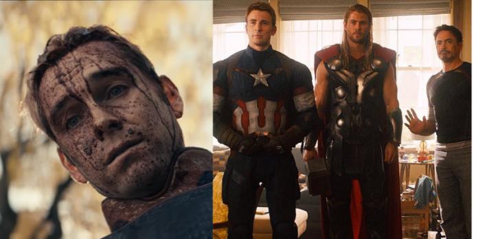 the boys, avengers