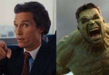 Matthew McConaughey, hulk