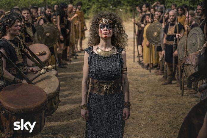 Romulus, personaggi, serie sky, origini di roma, matteo rovere