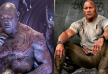 dave bautista, the rock