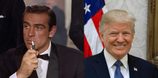 donald trump, james bond