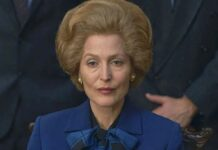 gillian anderson, the crown