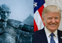 re della notte, game of thrones, donald trump