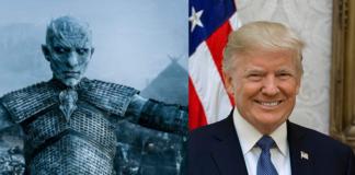 re della notte, game of thrones, donald trump