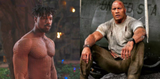 the rock, michael b jordan