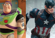 buzz lightyear, chris evans