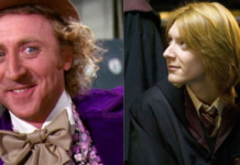 harry potter, george weasley, willy wonka
