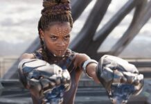 letitia writgh, black panther