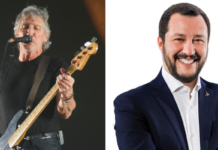 roger waters, salvini