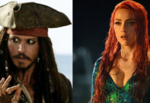 johnny depp, amberh heard, aquaman