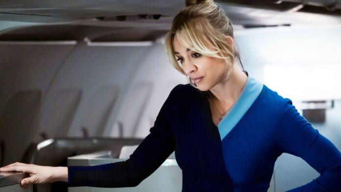 kaley cuoco, golden globes, the flight attendant