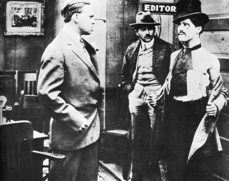 Making a Living : Chaplin