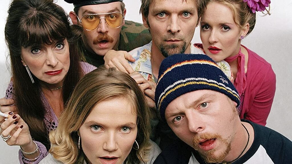 Simon Pegg; Nick Frost; Spaced; Edgar Wright