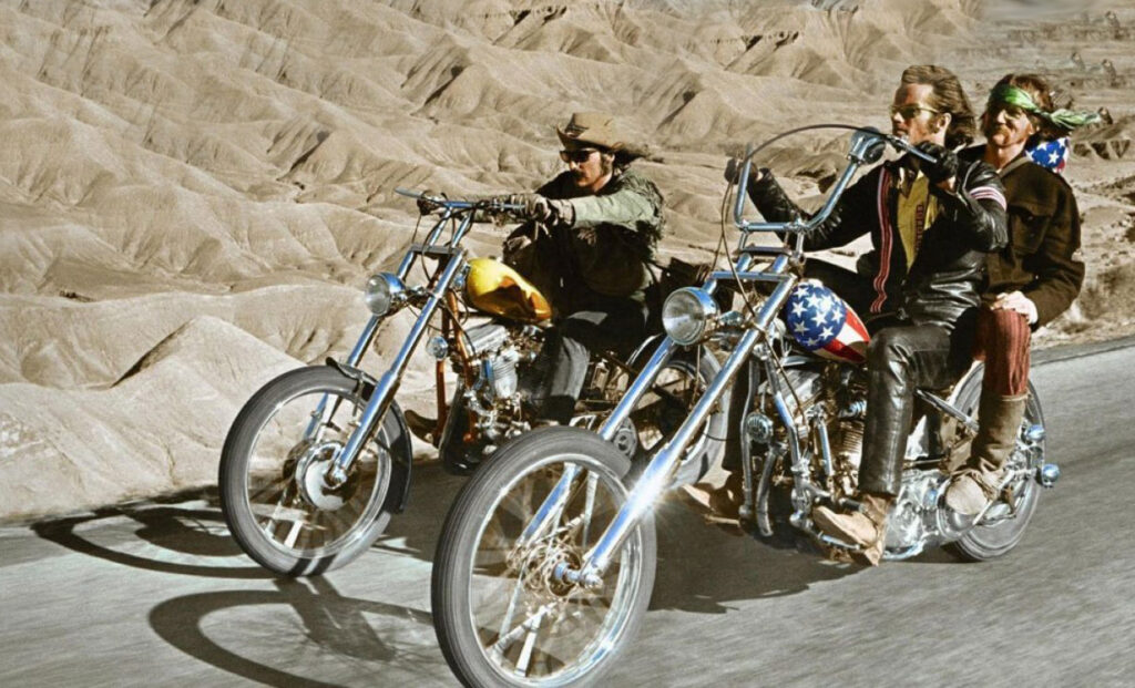 1969, Easy Rider, Dennis Hopper