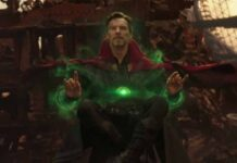 infinity war, dr strange