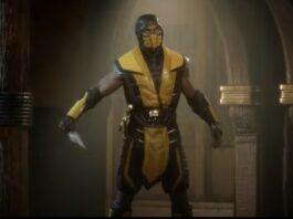 Scorpion in Mortal Kombat 11