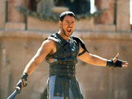 Il Gladiatore: Russell Crowe; Luca Ward